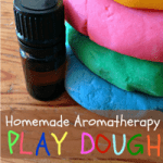 Homemade Aromatherapy Play Dough