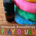 Easy Homemade Aromatherapy Play Dough