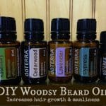 DIY Woodsy Beard Oil