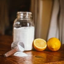 natural lemon dishwashing detergent