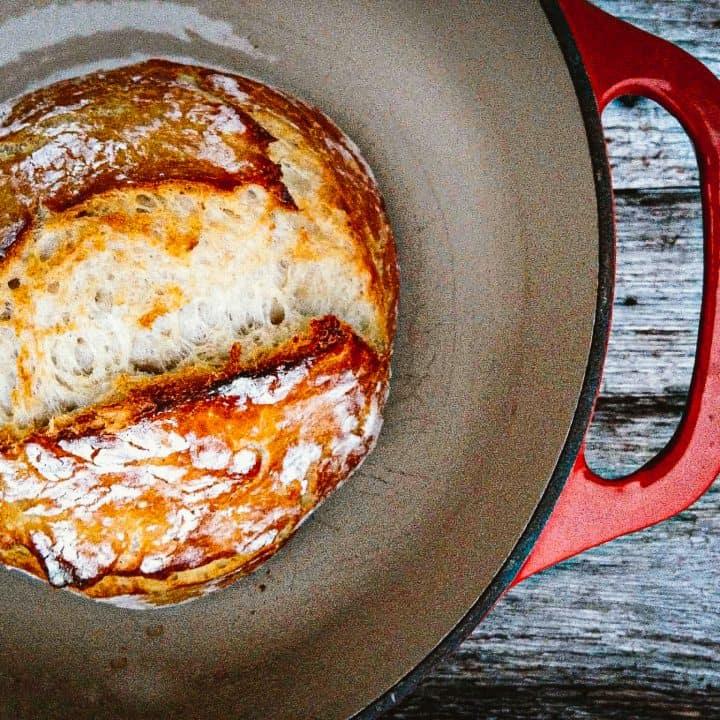 Sourdough Dutch Oven Bread